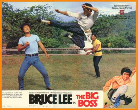 Bruce Lee delivers the pain.