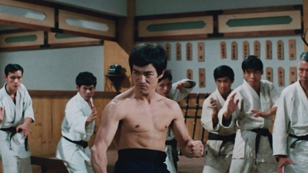 Bruce lee fist of fury fight scene