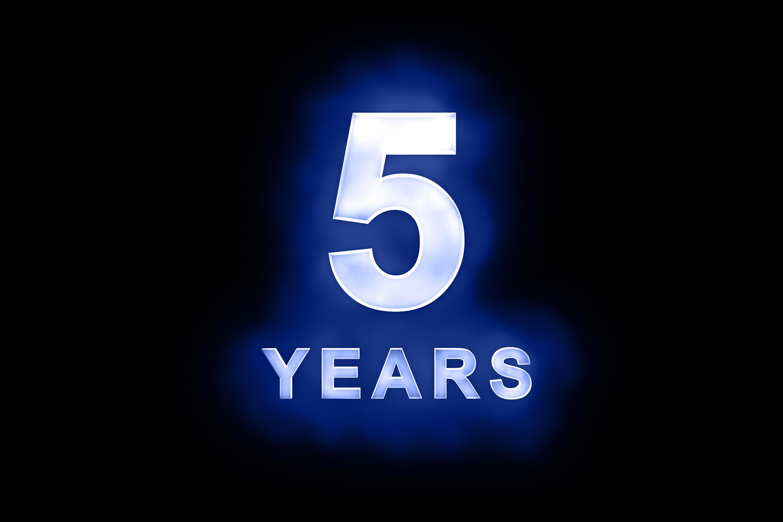 blue 5 years2 kiai kick