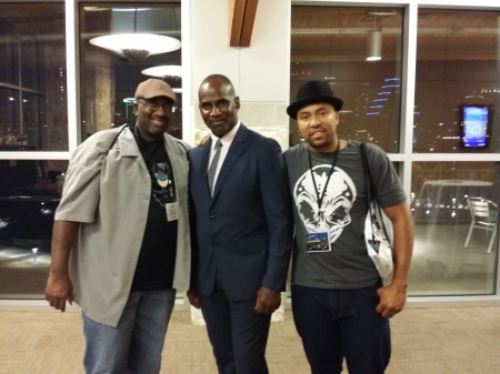 Me, Julius Tennon, and Da'Shade Moonbeam
